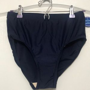 Swimsuits for All Navy Blue swim bottoms